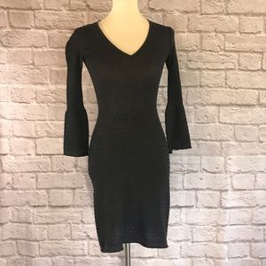 M for Missoni Gray knit dress size 40 or S